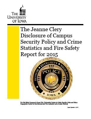 2015 Annual Security Report