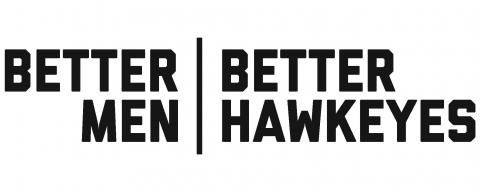 Better Men Better Hawkeyes Logo