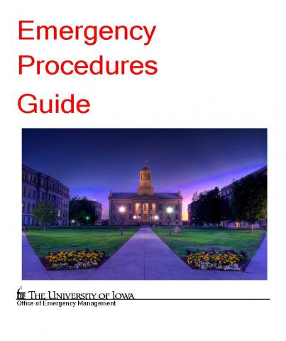 University Emergency Procedures Guide